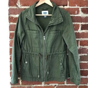 Old Navy Field Utility Jacket - Green - Size Small